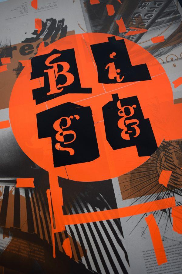 Chris Bigg Poster 'Orange'