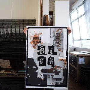 Chris Bigg Poster 'Silver'