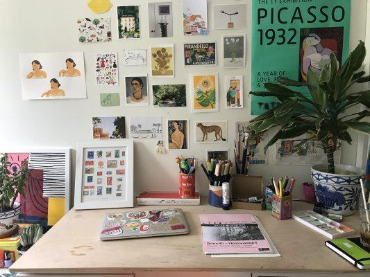 Interview Lucia Vinti illustrator uk