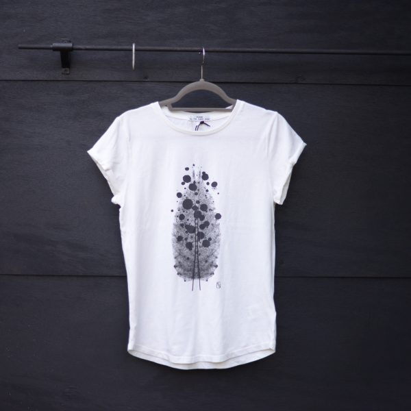 Dana Gusman t-shirt leaf