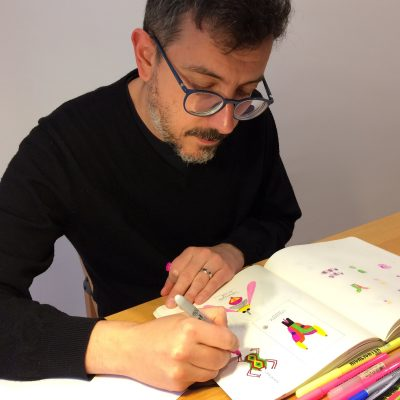 Jesús Cisneros artist @unseensketchbooks
