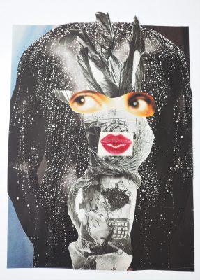 Maike Rohrer collage artist