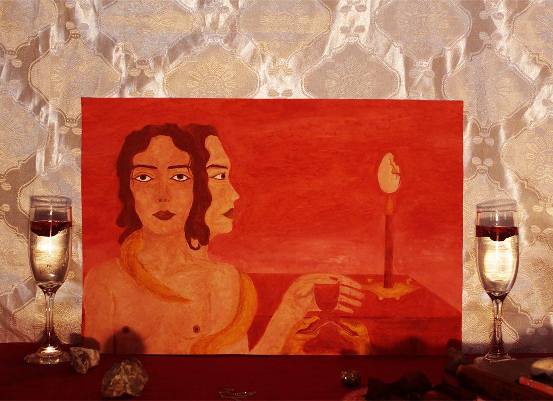 Odette Dessire painter Chile