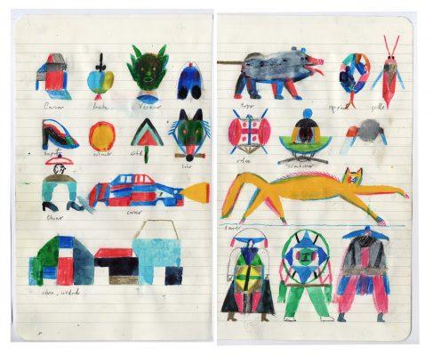 Unseen Sketchbooks: Jesús Cisneros sketchbook