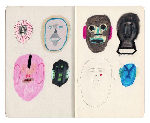 Edition 7: Jesús Cisneros sketchbook