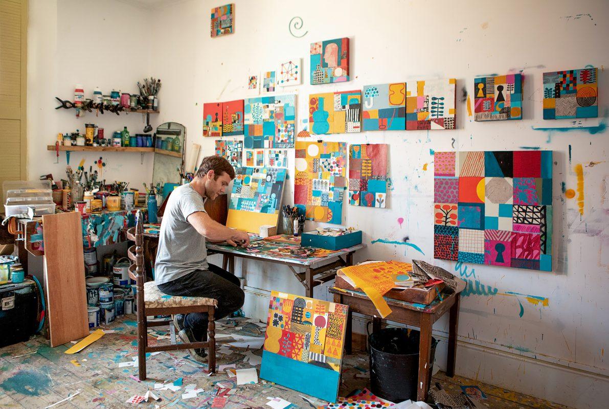 David Shillinglaw artist UK