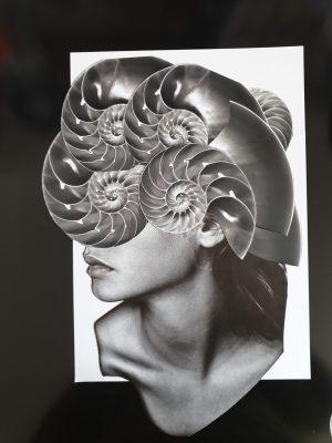 Maria Elisa Quiaro collage Venezuela Germany