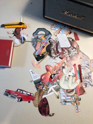 Lascar collage artist Luxembourg Belgium
