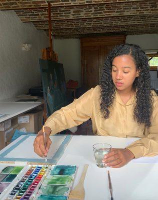 Joanna Blémont artist Rwanda Belgium