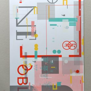 Screenprint: Tim O'Donnell / Chris Hunt – Red
