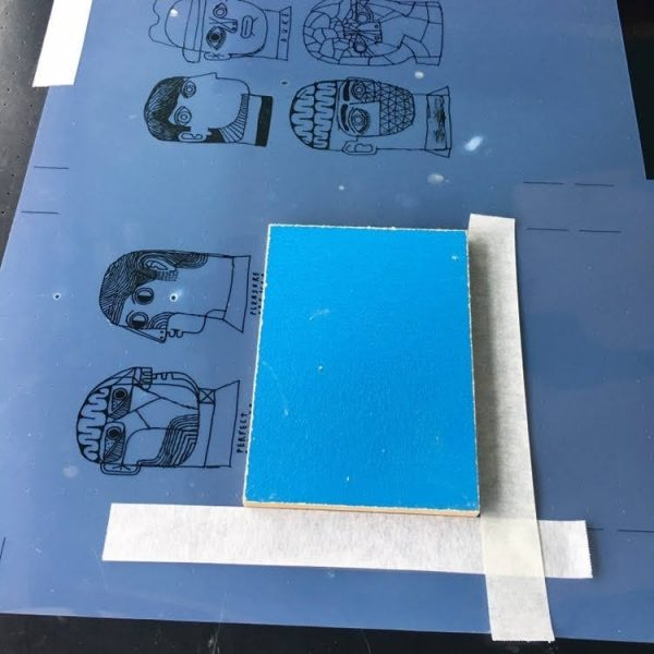 Everything starts in a sketchbook by David Shillinglaw print