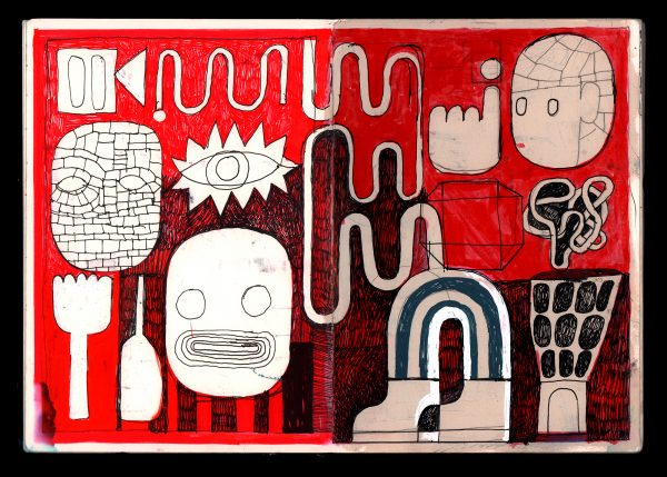 Everything starts in a sketchbook by David Shillinglaw